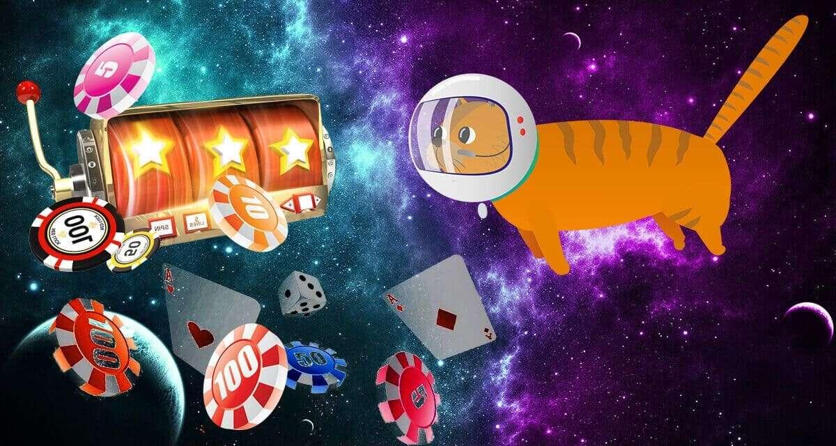 Игровые автоматы, карты, фишки казино Космолот